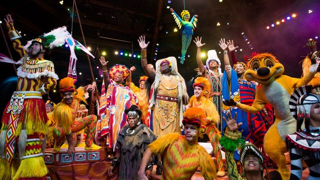 Festival of the Lion King Dining Packages Announced for Disney's Animal Kingdom