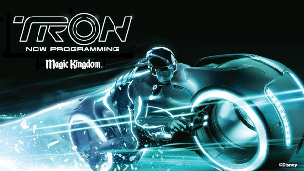 TRON Attraction Construction Continues; Tomorrowland Speedway, Walt Disney World Railroad To Temporarily Close