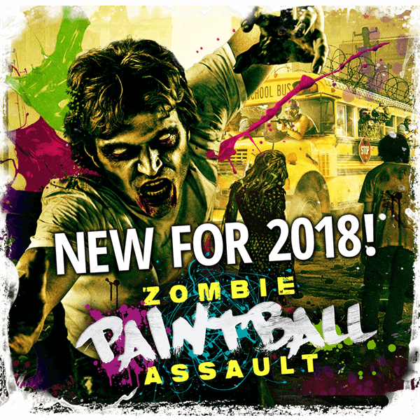 Scream-a-geddon Zombie Paintball Assault