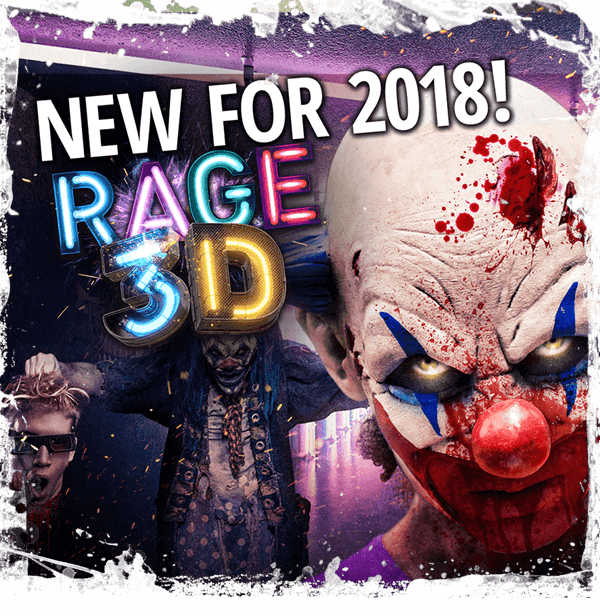 Scream-a-geddon Rage 3d Haunted House