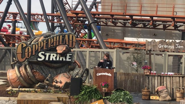 Copperhead Strike, Lisa Stryker, Roller Coaster, Copperhead Strike Media Day